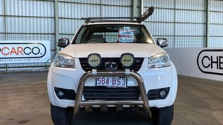2013 Great Wall V200 K2 MY13 White 6 Speed Manual Utility