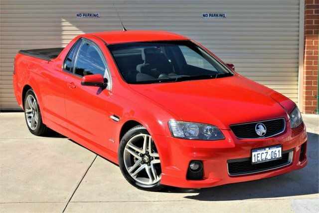 Used Holden Ute VE II MY12 SV6 Mount Lawley, 2012 Holden Ute VE II MY12 SV6 Red 6 Speed Sports Automatic Utility