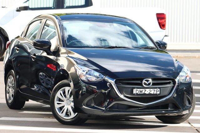 Used Mazda 2 DL2SAA Neo SKYACTIV-Drive Wollongong, 2017 Mazda 2 DL2SAA Neo SKYACTIV-Drive Jet Black 6 Speed Sports Automatic Sedan