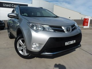 2014 Toyota RAV4 ZSA42R MY14 GXL 2WD Silver Sky 7 Speed Constant Variable Wagon.