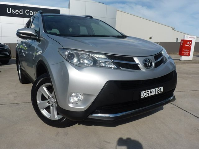 Pre-Owned Toyota RAV4 ZSA42R MY14 GXL 2WD Blacktown, 2014 Toyota RAV4 ZSA42R MY14 GXL 2WD Silver Sky 7 Speed Constant Variable Wagon