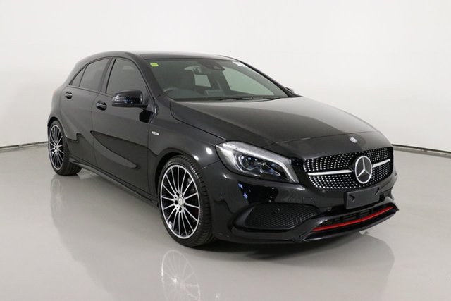 Used Mercedes-Benz A250 176 MY17.5 Sport 4Matic Bentley, 2017 Mercedes-Benz A250 176 MY17.5 Sport 4Matic Black 7 Speed Automatic Hatchback