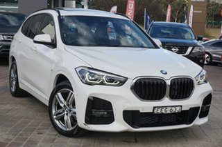 2019 BMW X1 F48 sDrive18i D-CT White 7 Speed Sports Automatic Dual Clutch Wagon.