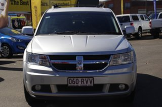 2011 Dodge Journey JC MY10 SXT Silver 6 Speed Automatic Wagon