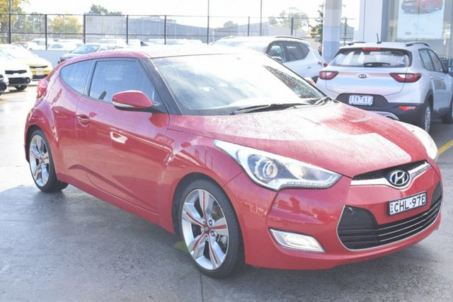 Used Hyundai Veloster FS2 Coupe D-CT Ferntree Gully, 2012 Hyundai Veloster FS2 Coupe D-CT Veloster Red 6 Speed Sports Automatic Dual Clutch Hatchback