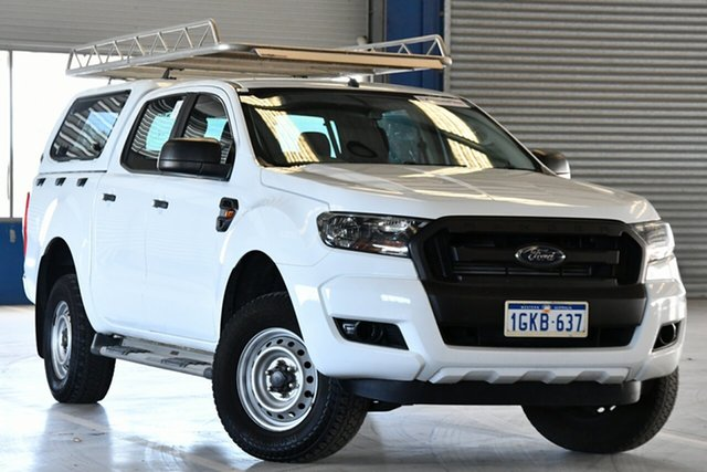 Used Ford Ranger PX MkII XL Hi-Rider Perth Airport, 2017 Ford Ranger PX MkII XL Hi-Rider Winter White 6 Speed Sports Automatic Utility