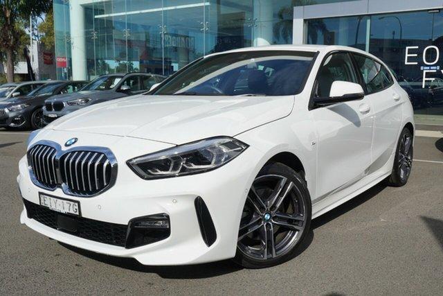 Used BMW 118i F40 M Sport Brookvale, 2020 BMW 118i F40 M Sport Alpine White 7 Speed Auto Dual Clutch Hatchback