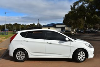 2016 Hyundai Accent RB4 MY16 Active White 6 Speed Constant Variable Hatchback.