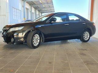 2011 Toyota Camry AHV40R Hybrid Luxury Black 1 Speed Constant Variable Sedan Hybrid