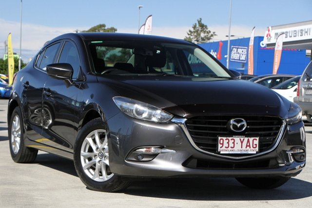 Used Mazda 3 BN5278 Maxx SKYACTIV-Drive Aspley, 2017 Mazda 3 BN5278 Maxx SKYACTIV-Drive Grey 6 Speed Sports Automatic Sedan