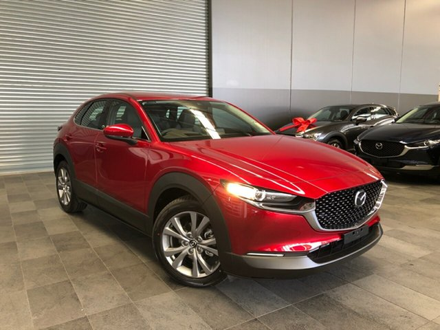 New Mazda CX-30 DM2W7A G20 SKYACTIV-Drive Touring Alexandria, 2021 Mazda CX-30 DM2W7A G20 SKYACTIV-Drive Touring Soul Red Crystal 6 Speed Sports Automatic Wagon