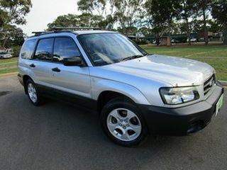2004 Subaru Forester MY04 XS Luxury Silver 5 Speed Manual Wagon.