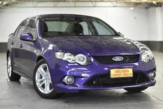2011 Ford Falcon FG XR6 Purple 6 Speed Sports Automatic Sedan.