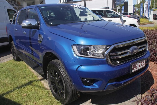 Used Ford Ranger PX MkIII 2020.75MY XLT Newstead, 2020 Ford Ranger PX MkIII 2020.75MY XLT Blue 6 Speed Sports Automatic Double Cab Pick Up