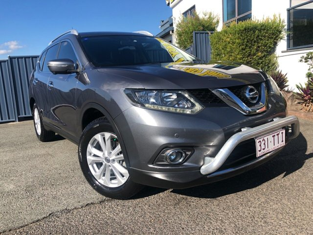 Used Nissan X-Trail T32 ST-L X-tronic 2WD Slacks Creek, 2014 Nissan X-Trail T32 ST-L X-tronic 2WD Grey 7 Speed Constant Variable Wagon