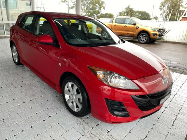 Used Mazda 3 Maxx Taree, 2010 Mazda 3 Maxx Velocity Red Sports Automatic Hatchback