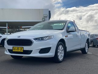 2015 Ford Falcon White Sports Automatic Utility - Extended Cab.