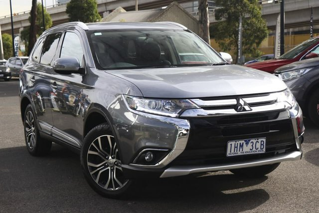 Used Mitsubishi Outlander ZK MY16 LS 2WD South Melbourne, 2016 Mitsubishi Outlander ZK MY16 LS 2WD Titanium 6 Speed Constant Variable Wagon