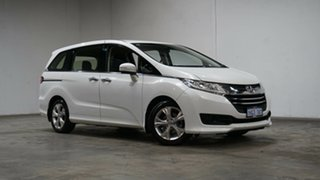2015 Honda Odyssey RC MY16 VTi Premium White 7 Speed Constant Variable Wagon.