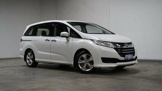 Used Honda Odyssey RC MY16 VTi Welshpool, 2015 Honda Odyssey RC MY16 VTi Premium White 7 Speed Constant Variable Wagon