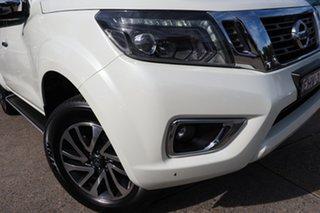 2020 Nissan Navara D23 MY21 ST-X White 7 Speed Sports Automatic Utility.