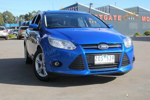 Used Ford Focus LW MK2 Trend West Footscray, 2013 Ford Focus LW MK2 Trend 6 Speed Automatic Hatchback