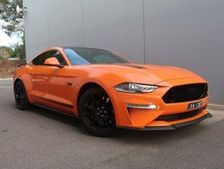 2019 Ford Mustang FN 2020MY GT Orange 6 Speed Manual Fastback.