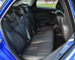 2013 Ford Focus LW MkII Titanium PwrShift Blue 6 Speed Sports Automatic Dual Clutch Hatchback