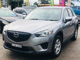 2014 Mazda CX-5 KE1031 MY14 Maxx SKYACTIV-Drive AWD Silver, Chrome 6 Speed Sports Automatic Wagon.