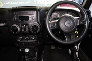 2014 Jeep Wrangler JK MY2014 Unlimited Sport White 6 Speed Manual Softtop