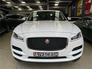 2016 Jaguar F-PACE X761 Prestige White Sports Automatic Wagon.