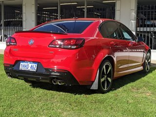2016 Holden Commodore VF II MY16 SS Black Red 6 Speed Sports Automatic Sedan