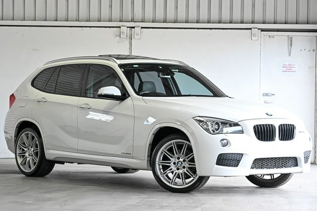 Used BMW X1 E84 LCI MY0713 xDrive28i Steptronic AWD Laverton North, 2013 BMW X1 E84 LCI MY0713 xDrive28i Steptronic AWD White 8 Speed Sports Automatic Wagon