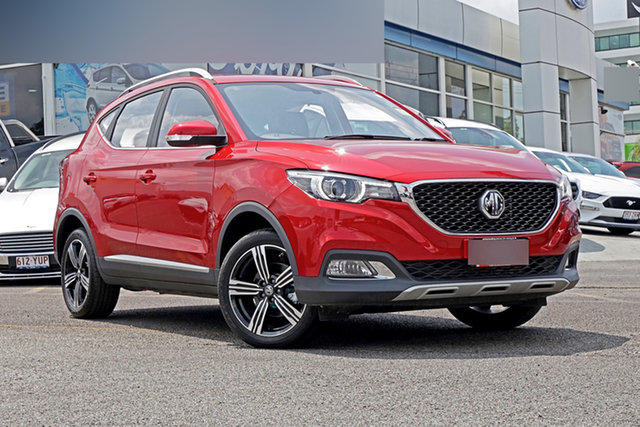 New MG ZS AZS1 MY21 Excite Plus 2WD Springwood, 2021 MG ZS AZS1 MY21 Excite Plus 2WD Red 6 Speed Automatic Wagon
