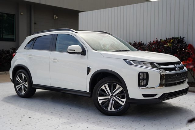 New Mitsubishi ASX XD MY21 Exceed 2WD Cairns, 2021 Mitsubishi ASX XD MY21 Exceed 2WD White 1 Speed Constant Variable Wagon