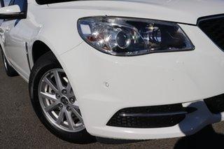 2015 Holden Commodore VF MY15 Evoke Sportwagon Heron White 6 Speed Sports Automatic Wagon.