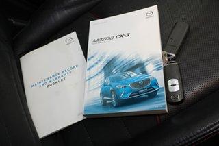 2018 Mazda CX-3 DK4W7A Akari SKYACTIV-Drive i-ACTIV AWD Black 6 Speed Sports Automatic Wagon