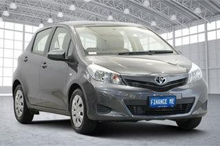 2013 Toyota Yaris NCP131R YRS Grey 4 Speed Automatic Hatchback.