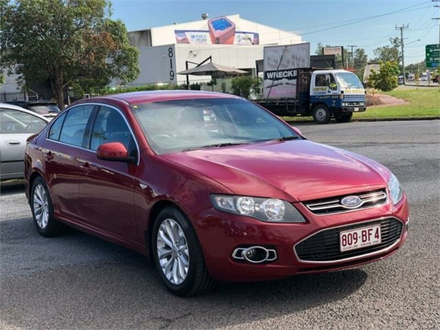Used Ford Falcon FG MkII G6 EcoBoost Archerfield, 2013 Ford Falcon FG MkII G6 EcoBoost Maroon 6 Speed Sports Automatic Sedan