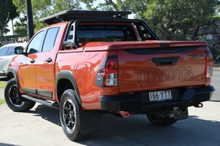 2018 Toyota Hilux GUN126R Rugged X Double Cab Inferno 6 Speed Sports Automatic Utility