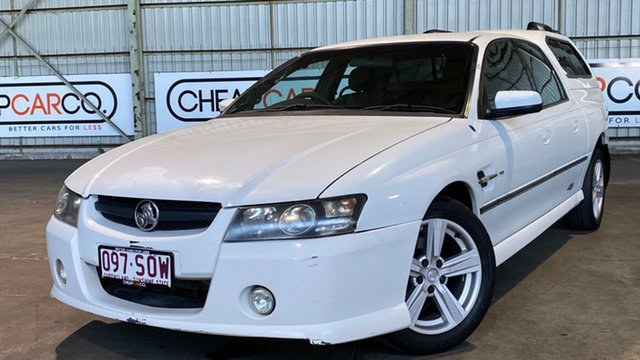 Used Holden Crewman VZ SS Rocklea, 2005 Holden Crewman VZ SS White 4 Speed Automatic Utility
