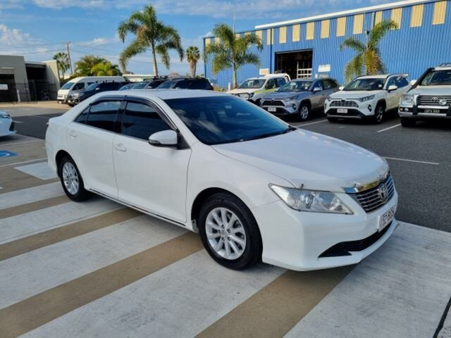 Pre-Owned Toyota Aurion GSV50R AT-X Gladstone, 2014 Toyota Aurion GSV50R AT-X Diamond White 6 Speed Sports Automatic Sedan