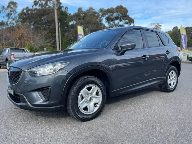 Used Mazda CX-5 Maxx Goulburn, 2013 Mazda CX-5 Maxx Grey Manual Wagon