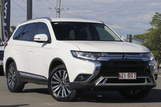 2019 Mitsubishi Outlander ZL MY19 LS 2WD White 6 Speed Constant Variable Wagon.