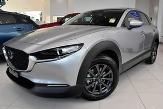 2021 Mazda CX-30 DM2W7A G20 SKYACTIV-Drive Pure Silver 6 Speed Sports Automatic Wagon.