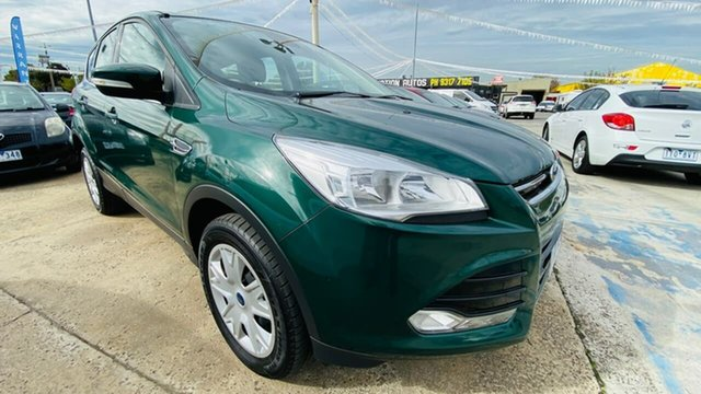 Used Ford Kuga TF MY16 Ambiente AWD Maidstone, 2016 Ford Kuga TF MY16 Ambiente AWD Green 6 Speed Sports Automatic Wagon