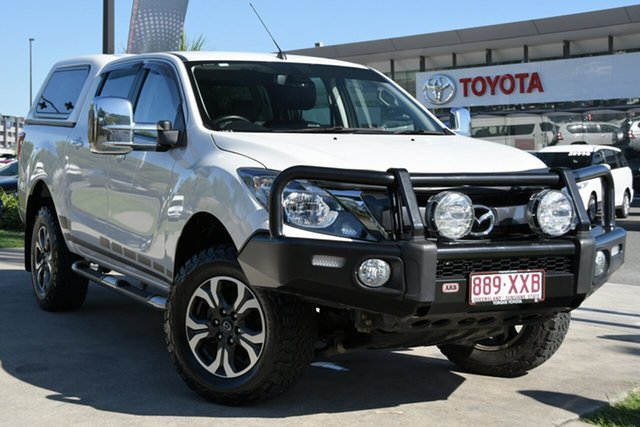 Pre-Owned Mazda BT-50 UR0YG1 GT North Lakes, 2017 Mazda BT-50 UR0YG1 GT White 6 Speed Sports Automatic Utility