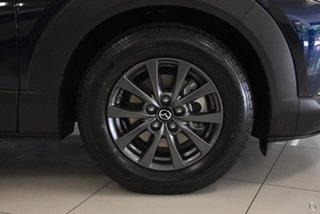 2021 Mazda CX-30 DM2W7A G20 SKYACTIV-MT Pure Blue 6 Speed Manual Wagon.