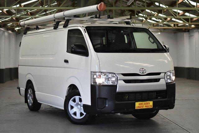 Used Toyota HiAce KDH201R LWB Morphett Vale, 2016 Toyota HiAce KDH201R LWB White 4 Speed Automatic Van