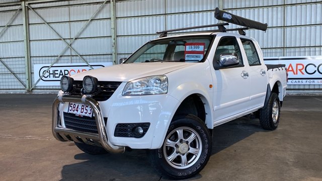Used Great Wall V200 K2 MY13 Rocklea, 2013 Great Wall V200 K2 MY13 White 6 Speed Manual Utility